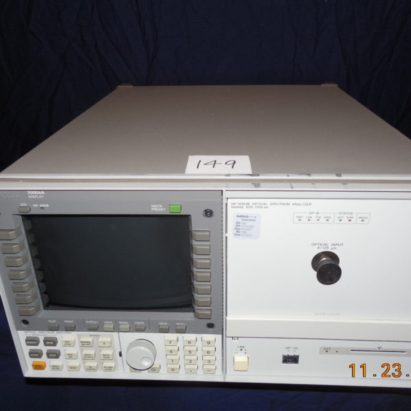 HP70952B Optical Spectrum Analyzer