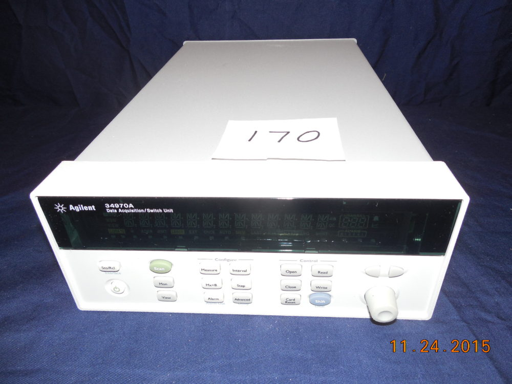 Agilent 34970A Data Acquisition/Switch