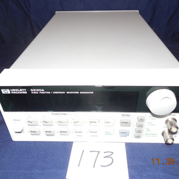 HP33120A 15MHz Function/Arbitrary Waveform Generator